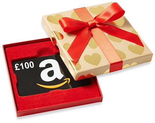 Win a £100 Amazon Gift Voucher