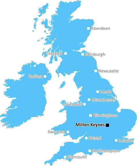Map Of England Milton.Milton Keynes Postcode Information List Of Postal Codes